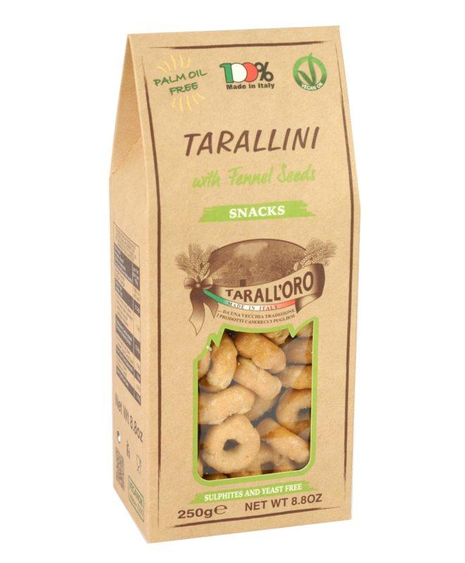 Tarallini Al Finocchio (with Fennel Seeds)