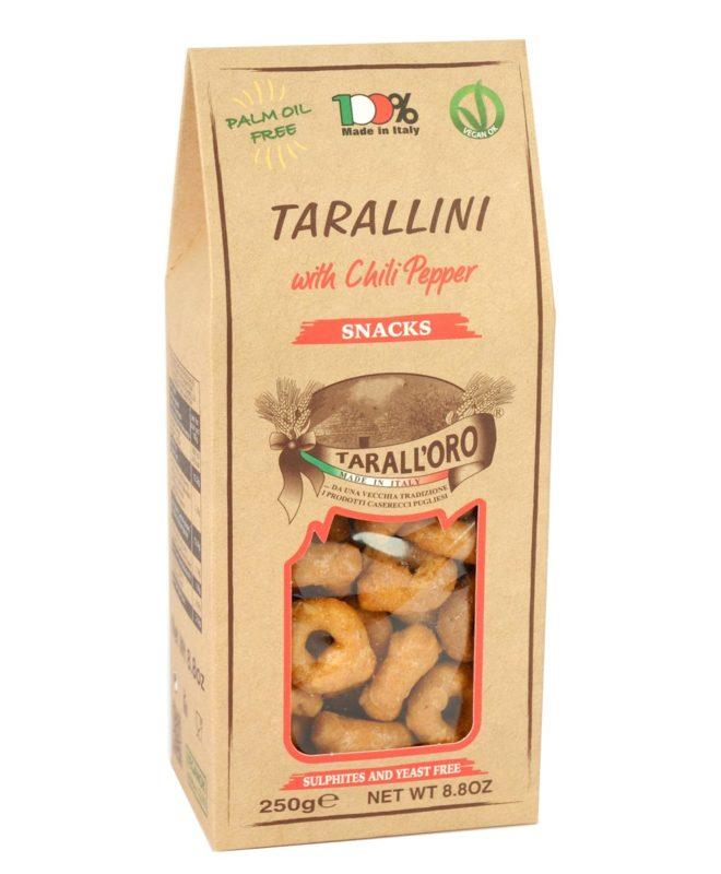 Tarallini Al Peperoncino (with Chili Pepper)