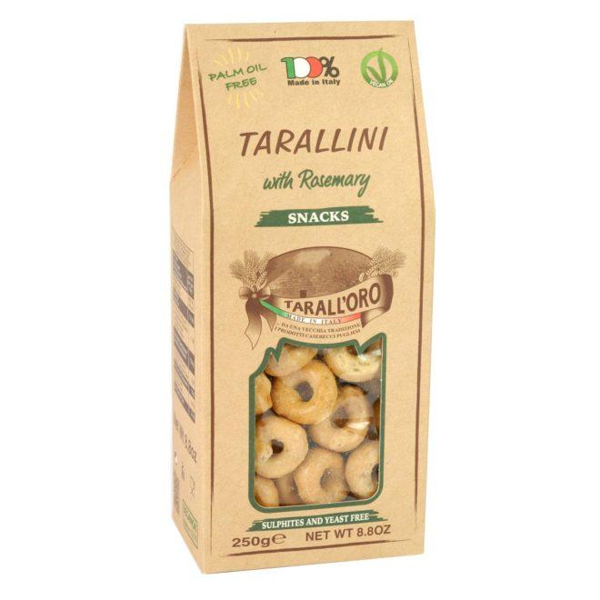 Tarallini Al Rosamarino (with Rosemary)