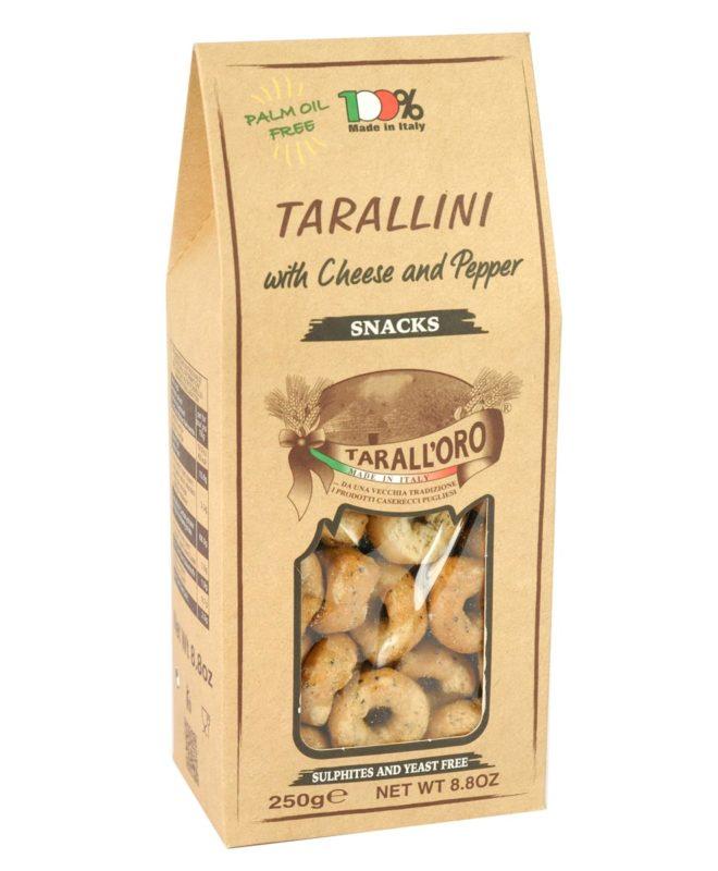 Tarallini Cacio e Pepe (with Cheese and Pepper)