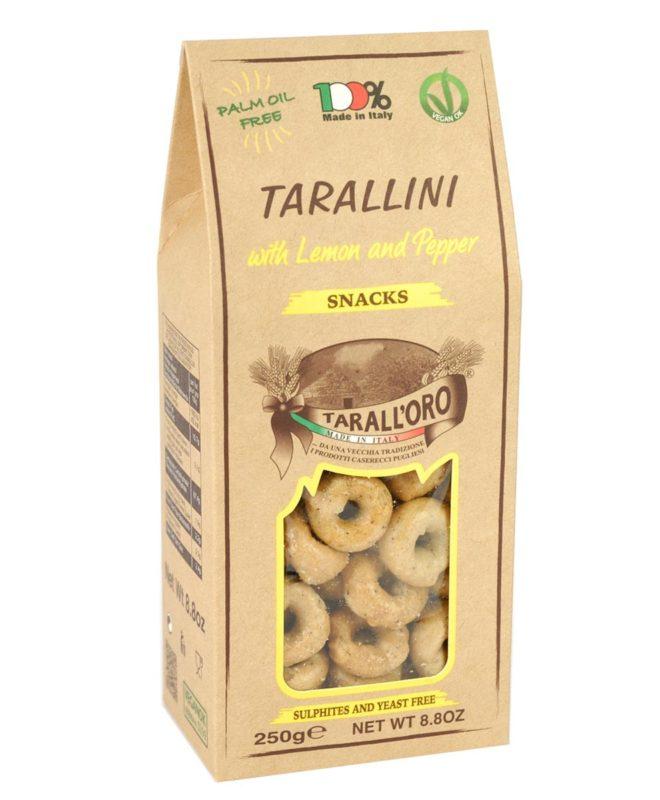 Tarallini Limone e Pepe (with Lemon and Pepper)
