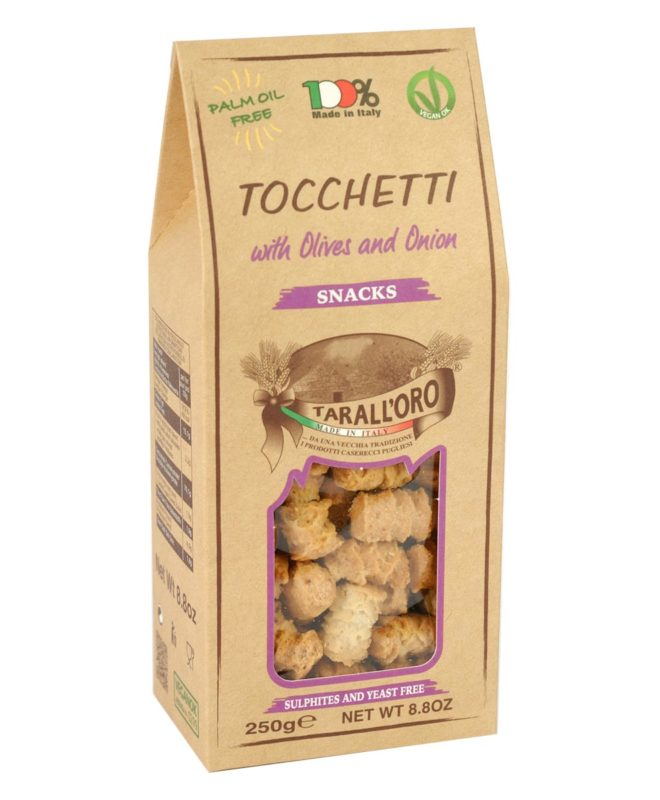Tocchetti With Olives and Onion