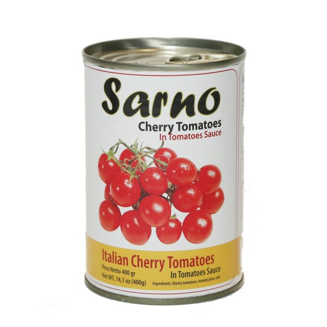 Tomatoes Sarno Cherry 400 Grams