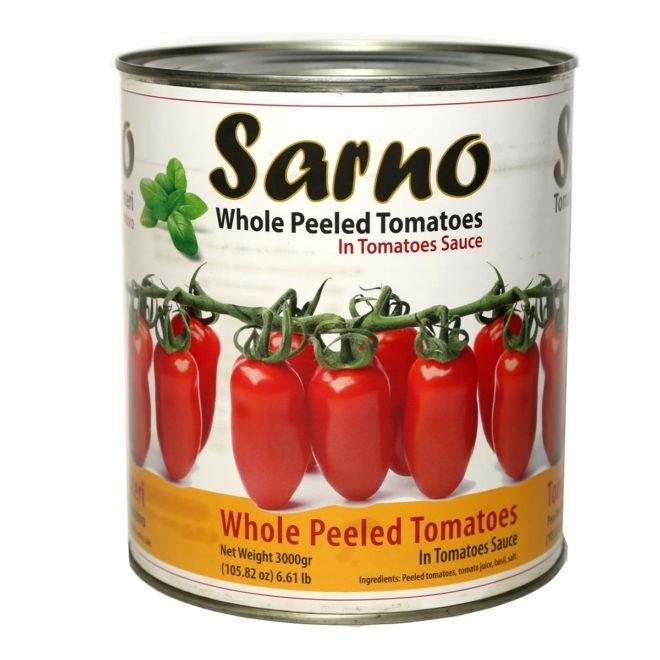 Tomatoes Sarno Whole 3000 Grams